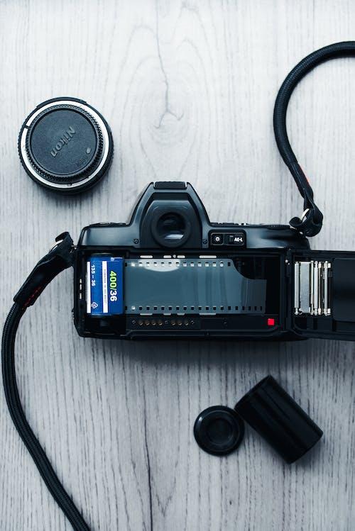Gratis stockfoto met 35 mm camera, 35 mm film, antiek, camera