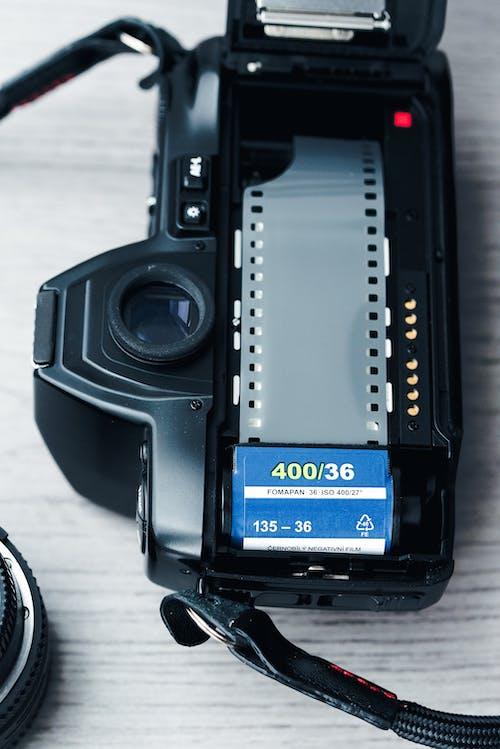 Gratis stockfoto met 35 mm camera, 35 mm film, blootgesteld, camcorder