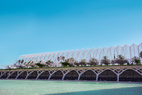 Photos gratuites de architecture, blanc, bleu, brillant