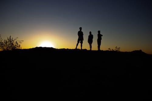 Free stock photo of break of dawn, hike, mountain, mountain top