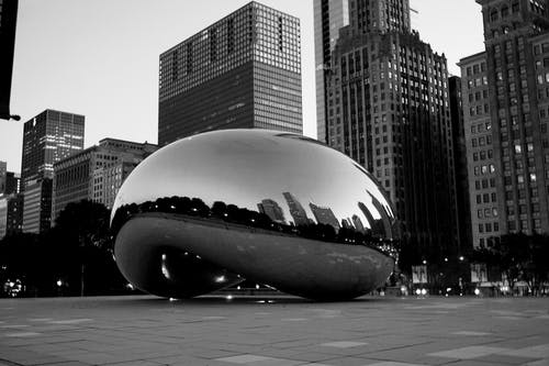 Free stock photo of bean, chicago, downtown