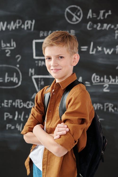 Boy in Brown Jacket