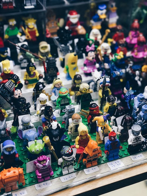 Free stock photo of collections, collector, lego