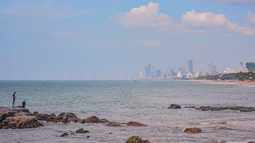 Free stock photo of 4k resolution, 4k wallpaper, beach, blue sky