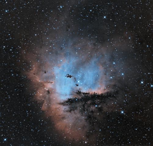 คลังภาพถ่ายฟรี ของ nebulosa espacial pacman ngc281, กล้องดูดาว, กล้องโทรทรรศน์, กลุ่มดาว