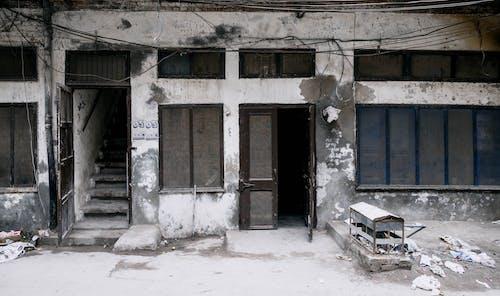Darmowe zdjęcie z galerii z architekt, architektura, bankructwo, biały