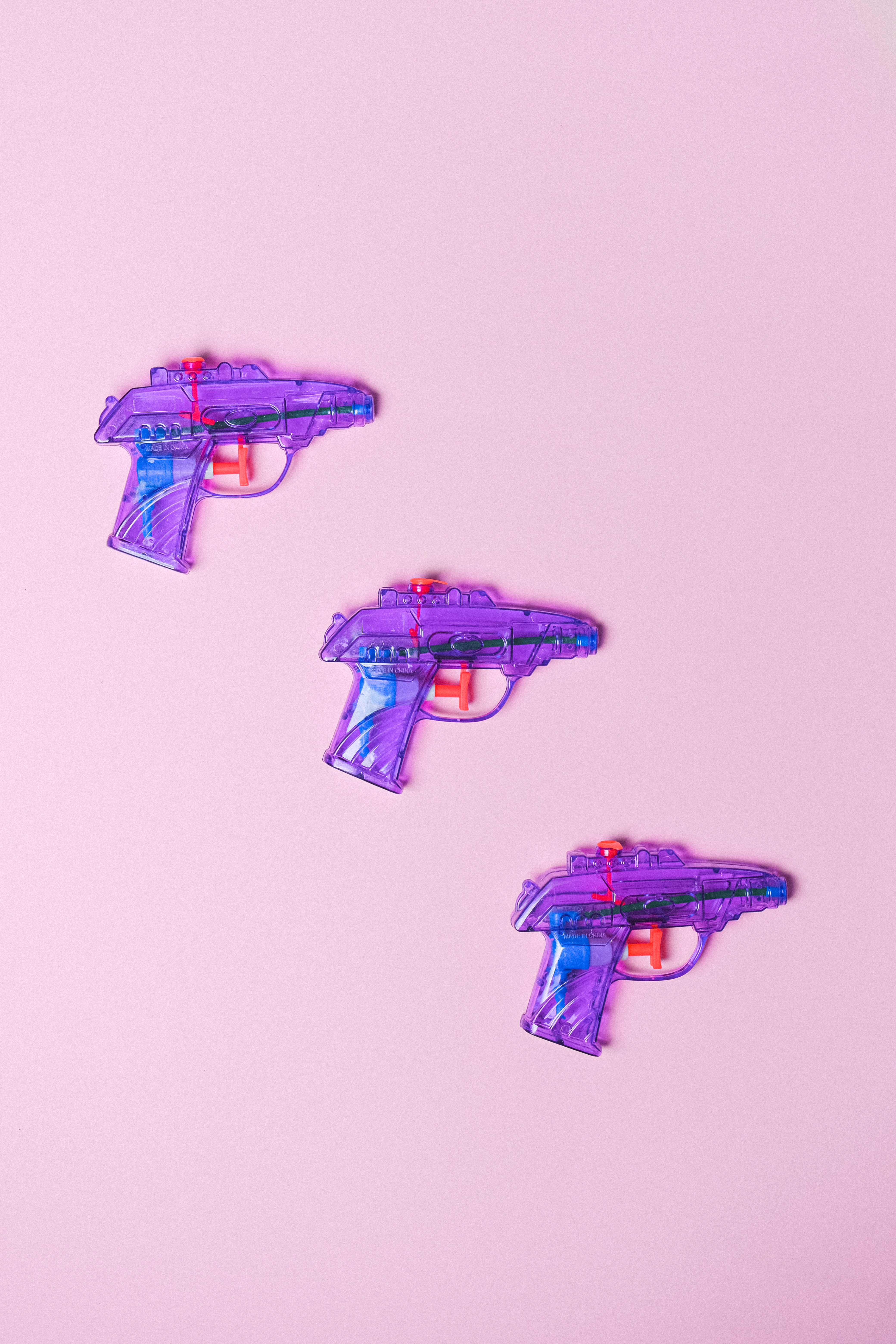 plastic toy pistols for shooting game