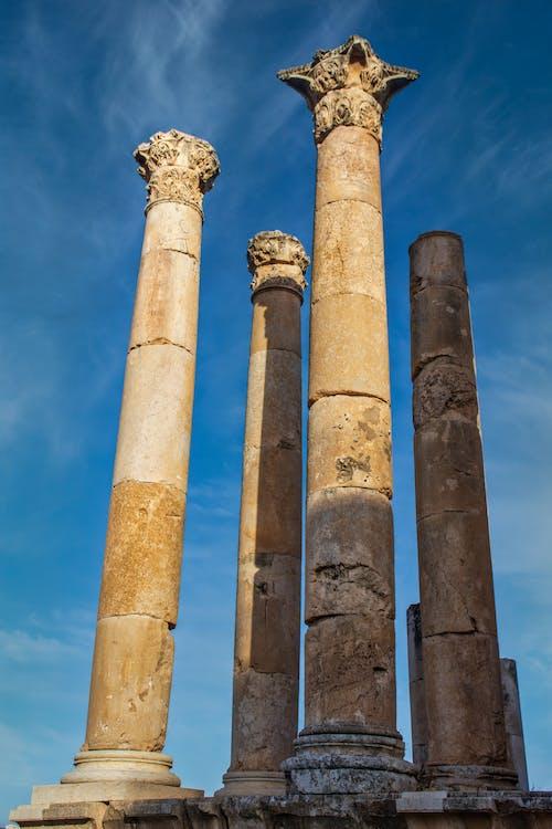 Kostnadsfri bild av arkeologi, forntida romersk arkitektur, jerash, jordan