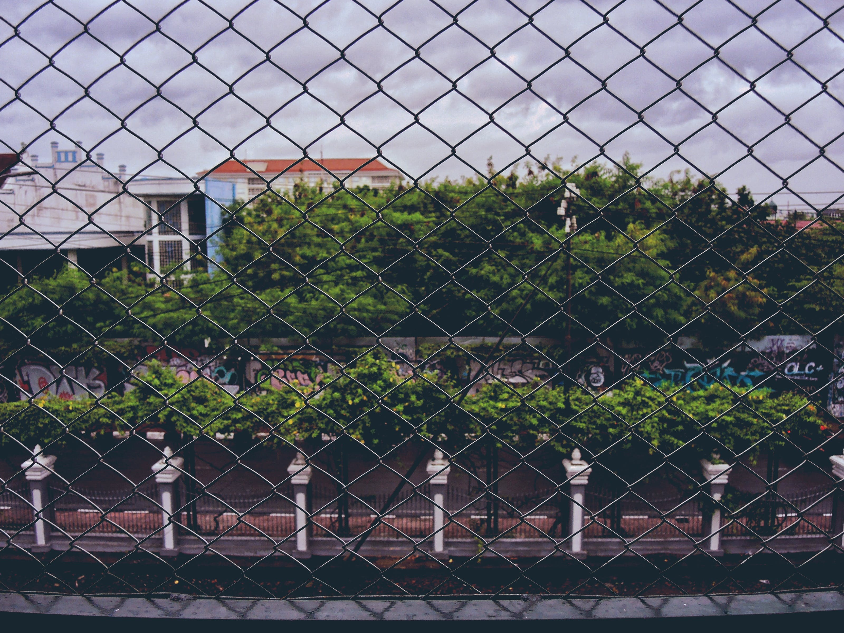 Free stock photo of #wire #street #rainy #photography #cage