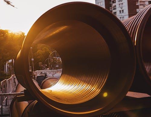 Kostenloses Stock Foto zu licht, park, stadt, tube
