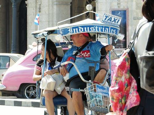 Free stock photo of cab, cuba, flag