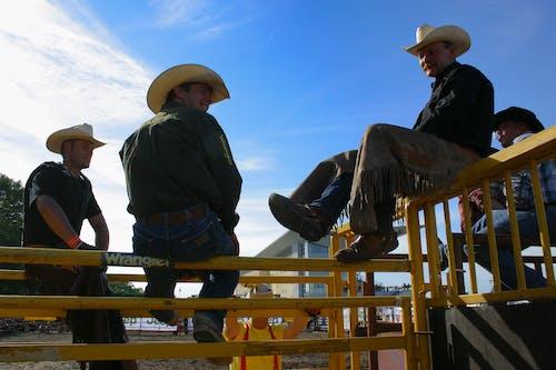 Kostnadsfri bild av bondgård, cowboy, cowboys