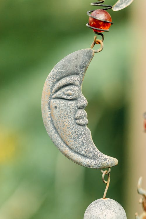 Small decorative ornament hanging on street