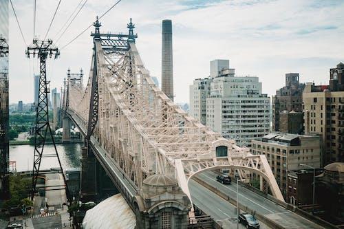 Fotobanka sbezplatnými fotkami na tému Amerika, architektúra, breh rieky, budova