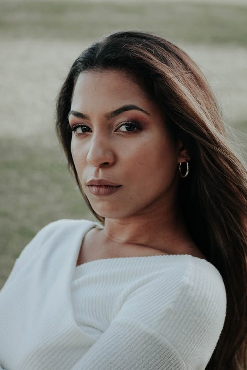 Beautiful ethnic woman in stylish wear