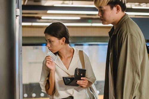 一對, 乘客, 亞洲夫婦, 休閒 的 免費圖庫相片