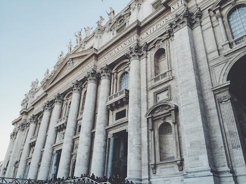 バシリカ, ローマ, 宮殿, 建物の無料の写真素材