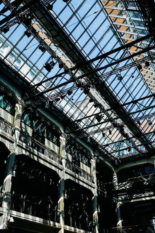 คลังภาพถ่ายฟรี ของ การก่อสร้าง, การสะท้อน, การแสดงออก, ทันสมัย