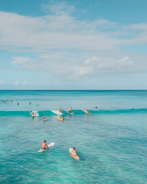 Fotos de stock gratuitas de agua, cielo azul, deporte acuático