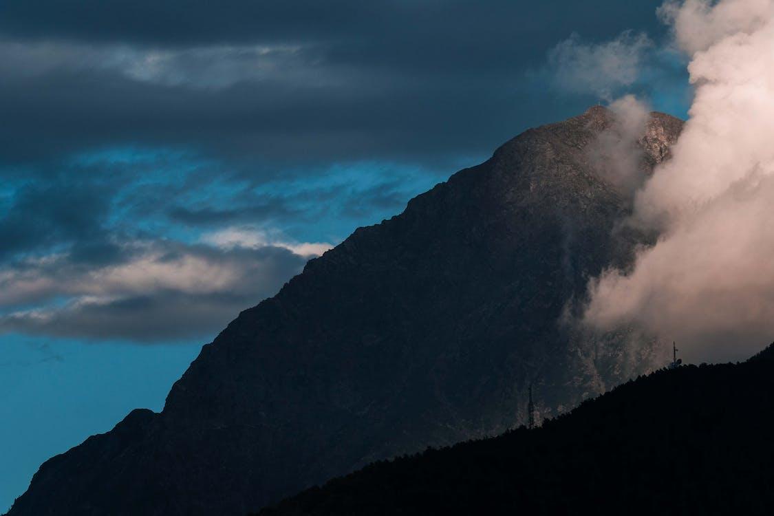 Kostenloses Stock Foto zu abend, berg, berge