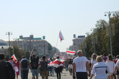 Free stock photo of Belarus, protest rally