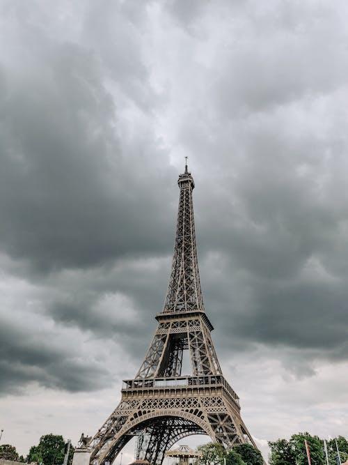 Ilmainen kuvapankkikuva tunnisteilla arkkitehtuuri, eiffel-torni, joki, kaupunki