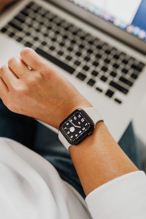 Person Wearing Smartwatch