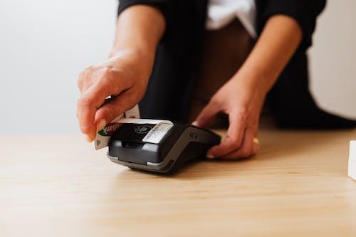 결제, 손, 신용 카드의 무료 스톡 사진