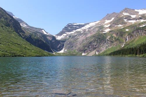 Free stock photo of glacier, lake, landscape, mountain