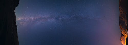 Бесплатное стоковое фото с звезды, млечный путь, перспектива