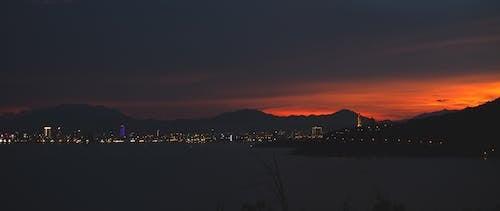 Free stock photo of Beautiful sunset, city, sunset