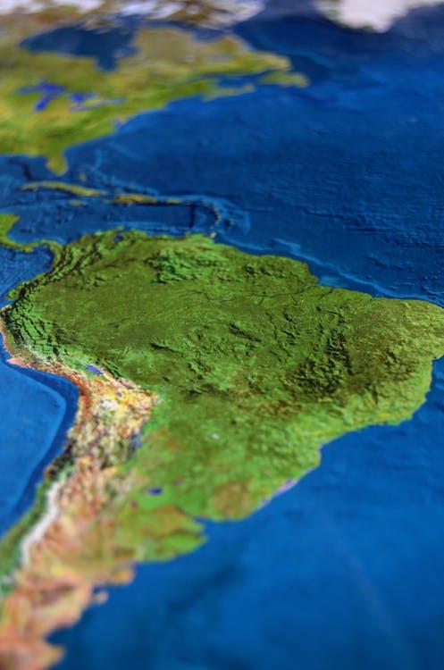 bản đồ, biển, lục địa