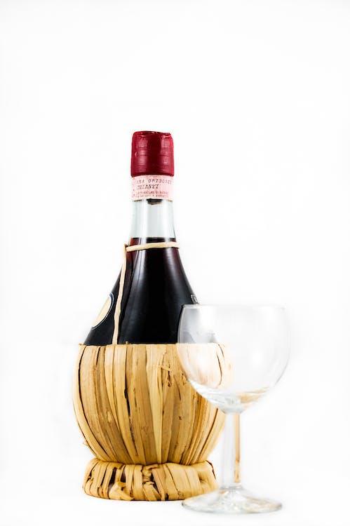 boire, verre, verre de vin