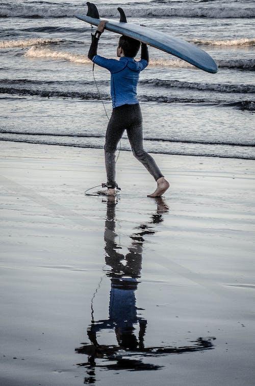 Gratis lagerfoto af barn, bølger, Dreng, hav