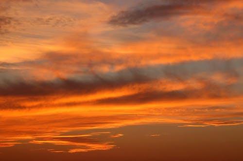Gratis arkivbilde med appelsin, atmosfære, himmel, natur