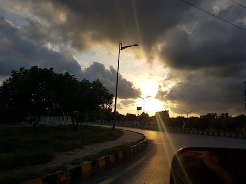 Free stock photo of sunset, sunshine