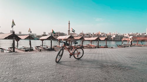 Gratis lagerfoto af både, bicicletadubaï, cykel, cykeltur