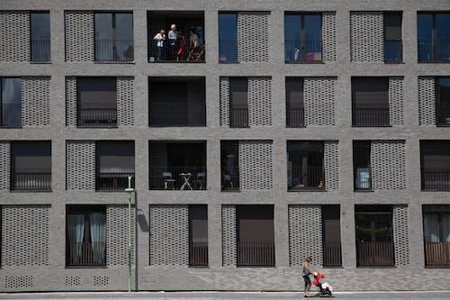 Foto d'estoc gratuïta de a l'aire lliure, apartament, arquitectura