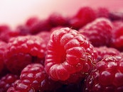 food, red, fruits