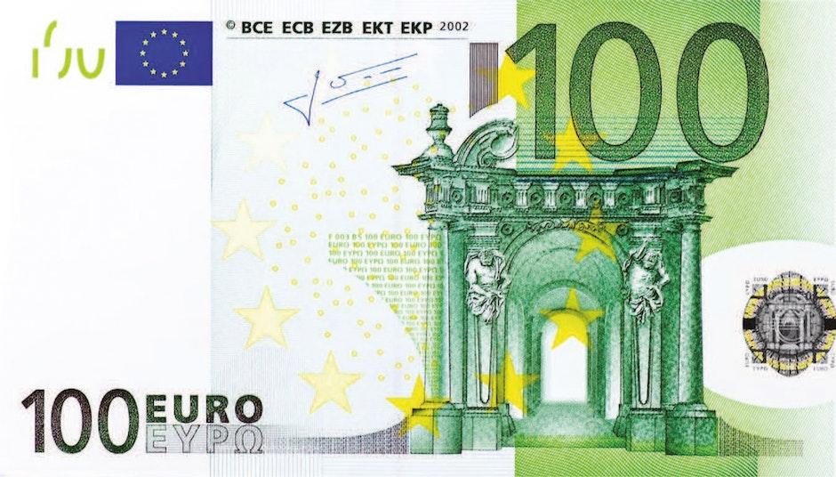 100, 100 euro, business
