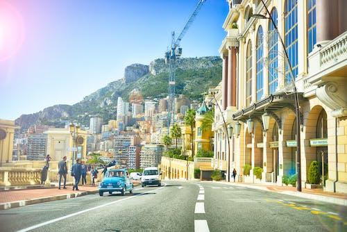 Immagine gratuita di auto, case, città, cittadina