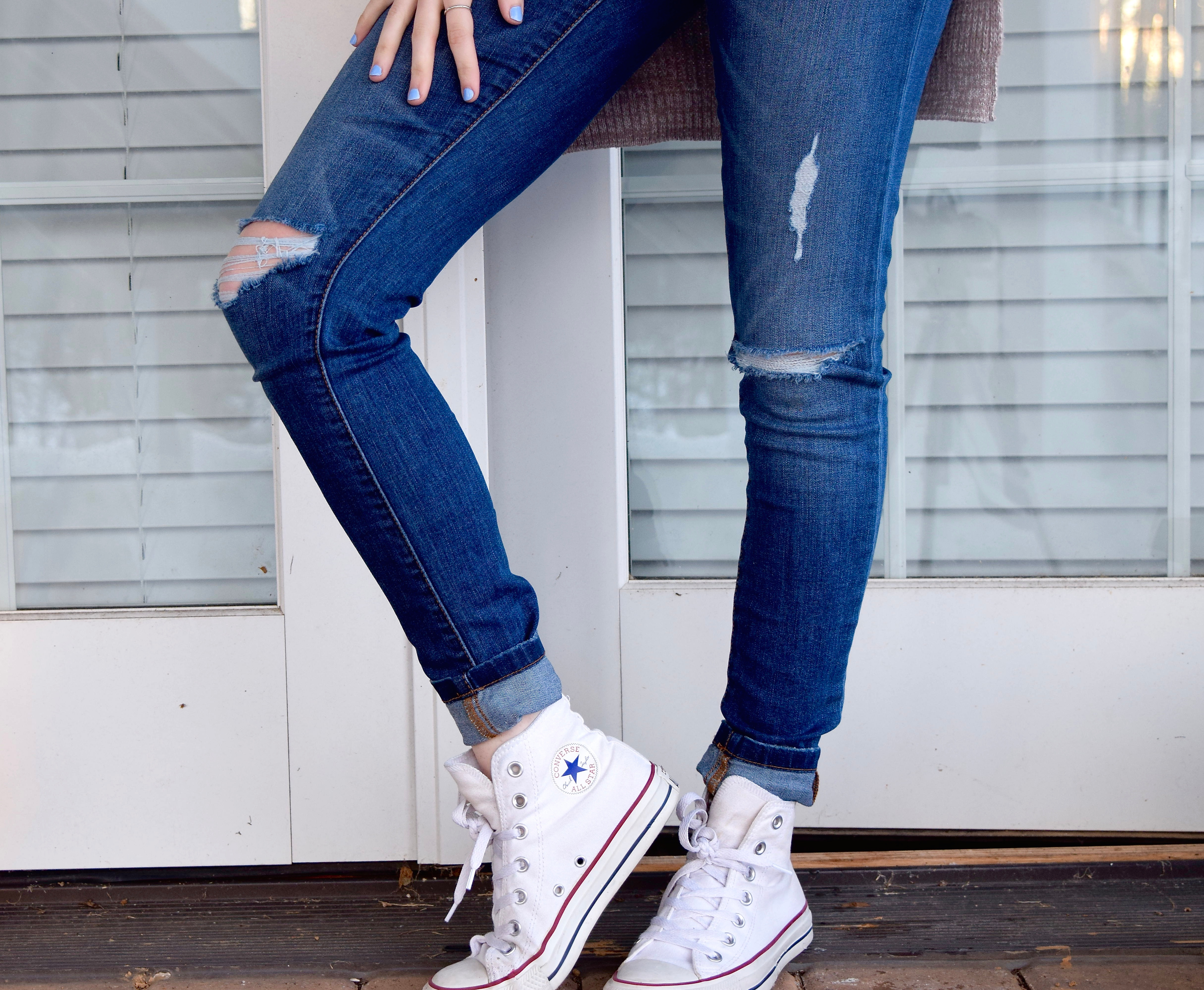 converse all star jeans
