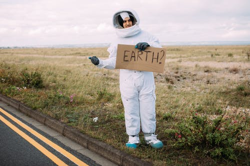 Hitchhiking Astronaut