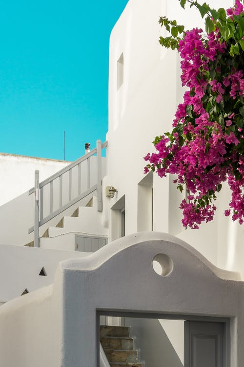 Whitewashed Building in Greece