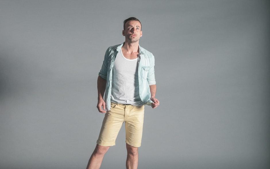 casual, fashion, man