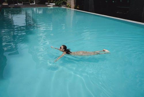 Бесплатное стоковое фото с аквамарин, бассейн, беззаботный