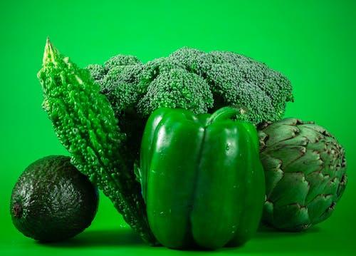 Free stock photo of art, avocado, broccoli