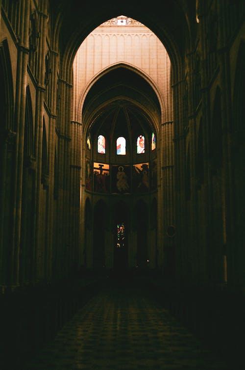Бесплатное стоковое фото с 35 мм пленка, аббатство, Арка