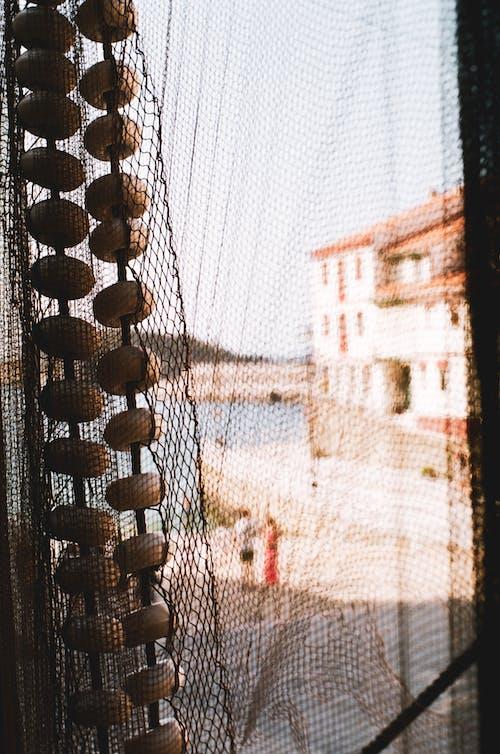 Бесплатное стоковое фото с 35 мм пленка, архитектура, веревка