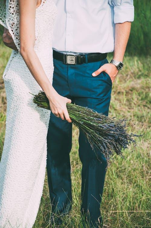Δωρεάν στοκ φωτογραφιών με lavanda, βότανο, γαμήλια τελετή, λευκός